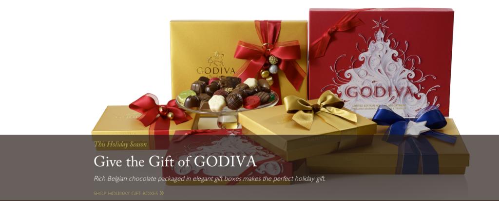 Godiva Home Page
