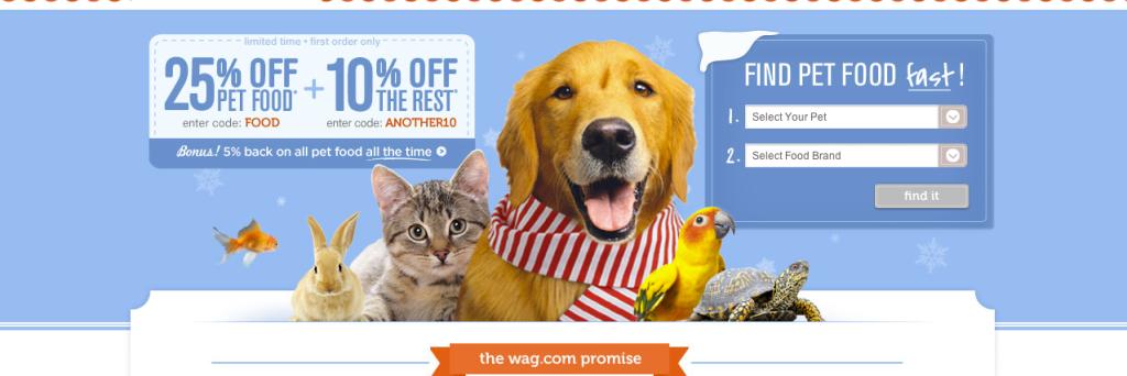 Wag Home Page Marketing Hero