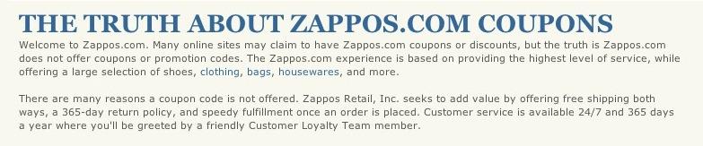 Zappos Trustmarks