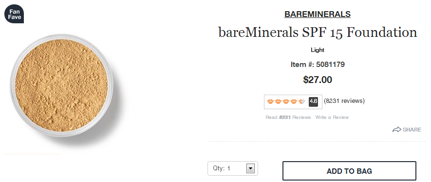 Product Reviews Displayed on Product Page